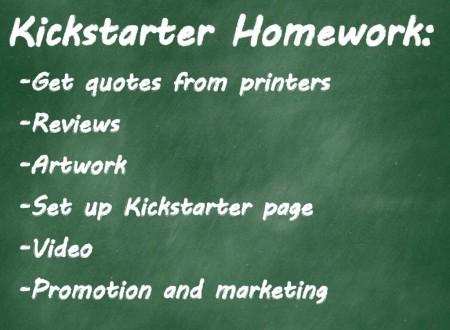kickstarter homework