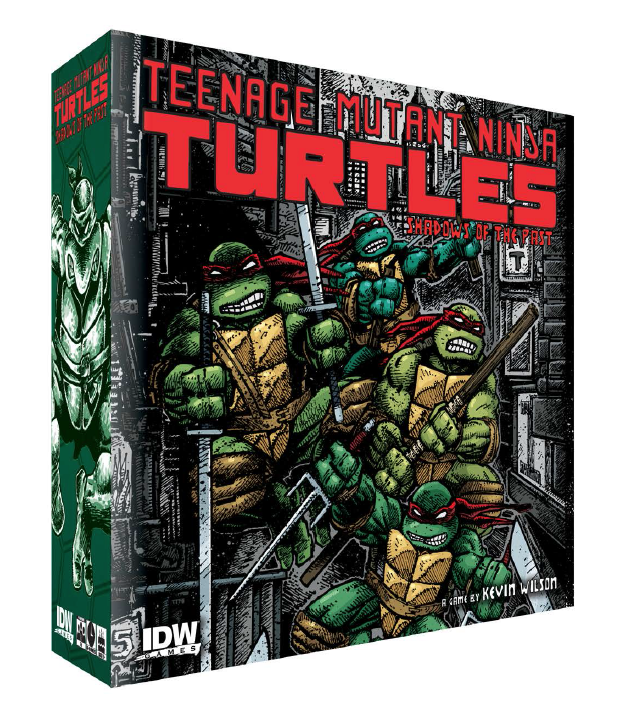 tmnt boardgame idw