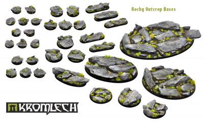 rocky outcrop bases