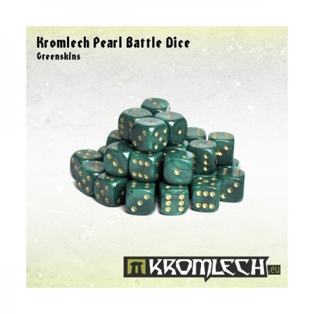 kromlech-pearl-battle-dice-greenskins