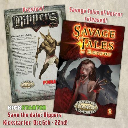 savage tales of horror