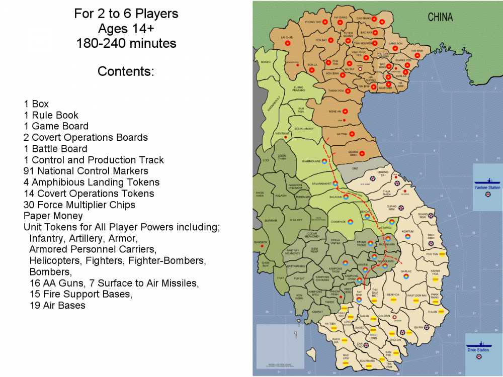 Contents and Map Image