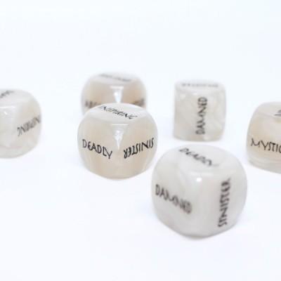 scenery dice