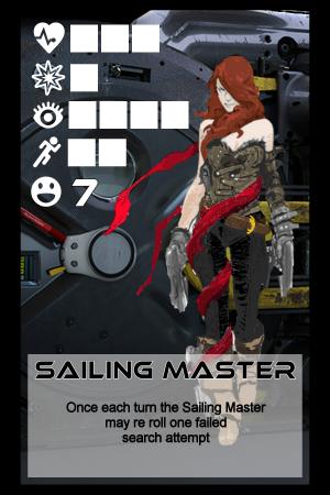 Character Card - Sailing Master