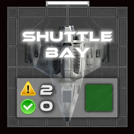 Into The Black - Shuttle Bay
