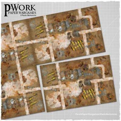 pworks industrial mat
