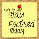 stay focused - blog