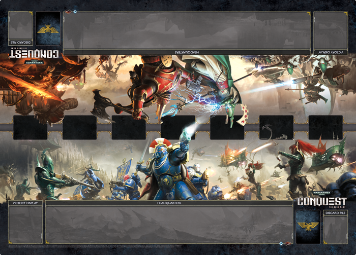 conquest playmat