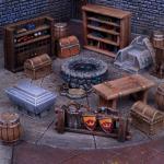 dungeon saga terrain