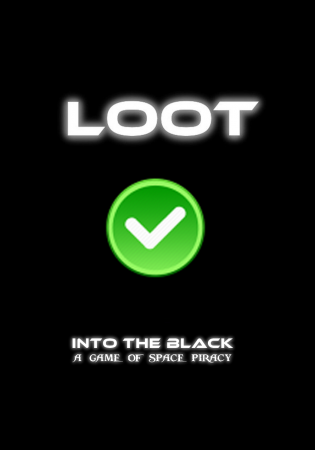 Into the Black - Loot Card - BACK