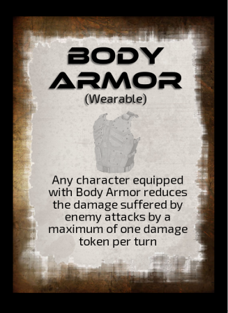 Into the Black - Loot Card - body armor