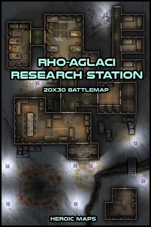 rho-aglaci research station'