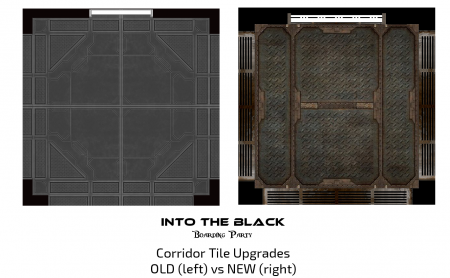Into the Black - Boarding Party - Corridor Tile Upgrade Example