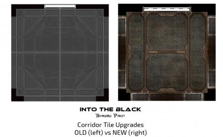 Into the Black - Boarding Party - Corridor Tile Upgrade Example