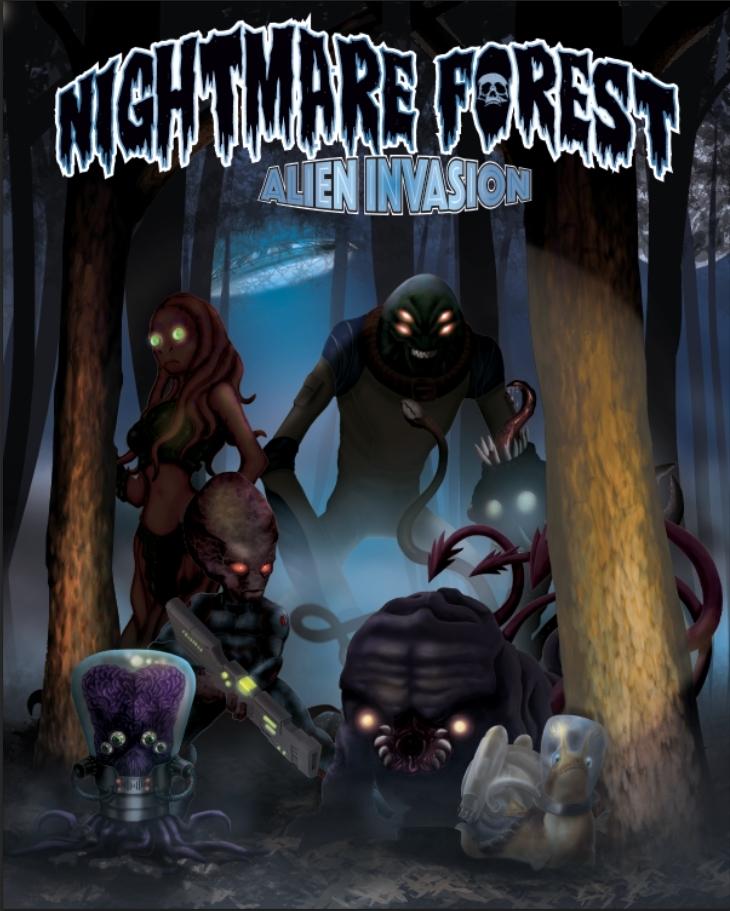 nightmare forest alien invasion