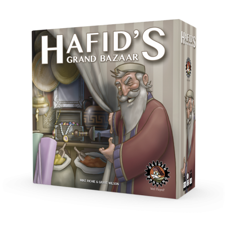 Hafids Grand Bazaar 3D Box Left Facing