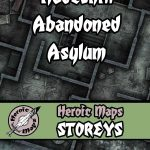 Hadeshill Abandoned Asylum Available from Heroic Maps