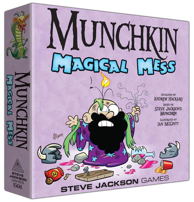 munchkin magical mess