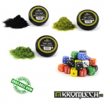 Kromlech release Static Grass and battle dice
