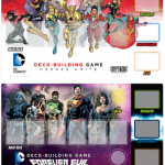 DC Comics Deck Building Playmats now available