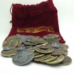 Metal Coins for Red Dragon Inn