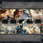WH40K: Conquest 2 Player Playmat available