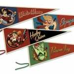 DC Comics Bombshells Pennant Collection