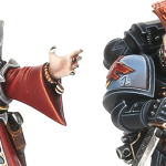 Genestealer Cult and Space Marine Chapters from One Page Rules