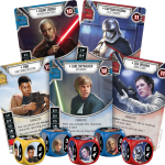 Star Wars: Destiny collectible dice and card game from FFG