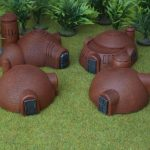New 10mm Sci-Fi Buildings from Brigade Models