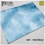 Ice Planet Game Mat from PWork Wargames