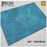 Seas of War game mat from Pwork Wargames
