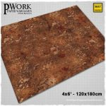 Warland game mat from PWork Wargames