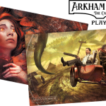 Arkham Horror TCG Playmats available