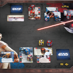 Awakenings play mat for Star Wars Destiny