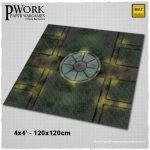 PWork Wargames fantasy mat, Dark London available