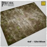 Dust Town game mat from PWork Wargames released