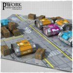 Infinite Scenery wargaming sets from PWork Wargames