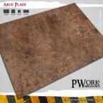 PWork Wargames release Arid Planes game mat