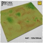 Outlander Terrain Mat available now from PWork Wargames