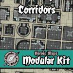 Heroic Maps Starship Corridors Modular Map Set released