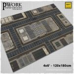Urban Sector Game Mat from PWork Wargames