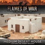 Battlefield in a Box: Medium Desert House and Desert Escarpments Now Available From Battlefront