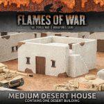 Battlefield in a Box: Medium Desert House and Desert Escarpments Now Available From Battlefront