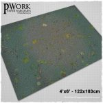 Cobblestone City Gaming Mat from PWork Wargames