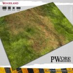PWork Wargames Woodland Game Mat Available