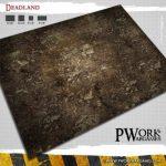 Deadland Gaming Mat from PWork Wargames