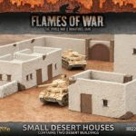 Battlefield in a Box: Small Desert Houses 15mm Scenery for Flames of War