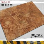 Badlands Gaming Mat Available from PWork Wargames