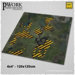 PWork Wargame release Operation Alpha Gaming Mat